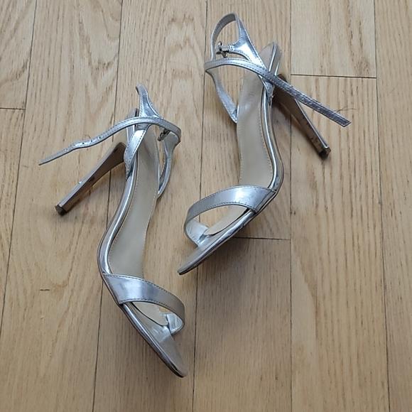 Fergie silver sandals